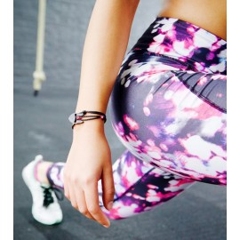 Carbon-Bracelets black-pink
