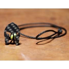 Carbon-Bracelet black-yellow Women