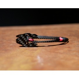 Carbon-Bracelet black-rose Women