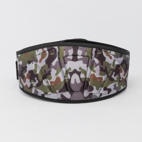 Gewichtheber-Gürtel camouflage mit AGOGE-Print