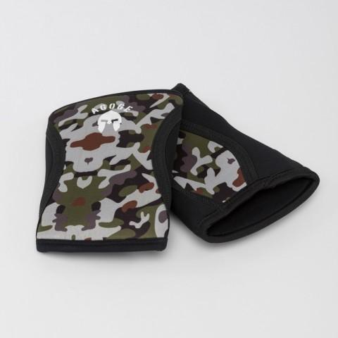 Kniebandage camouflage mit AGOGE Print
