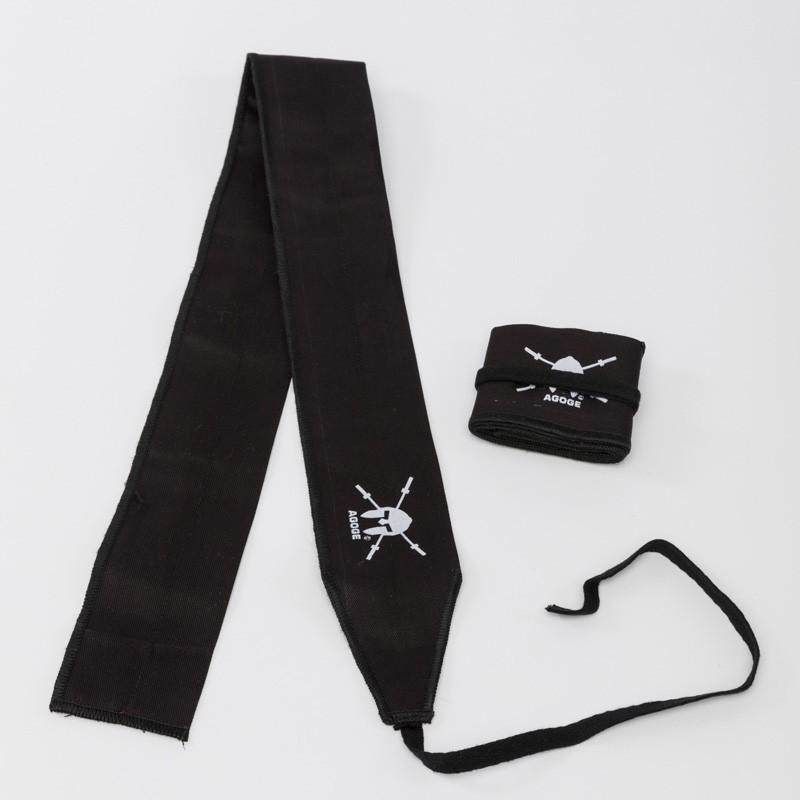 AGOGE Wrist Wraps Gymnastics - Handgelenk-Bandagen schwarz