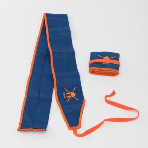 AGOGE Wrist Wraps Gymnastics - Handgelenk-Bandagen blau-orange