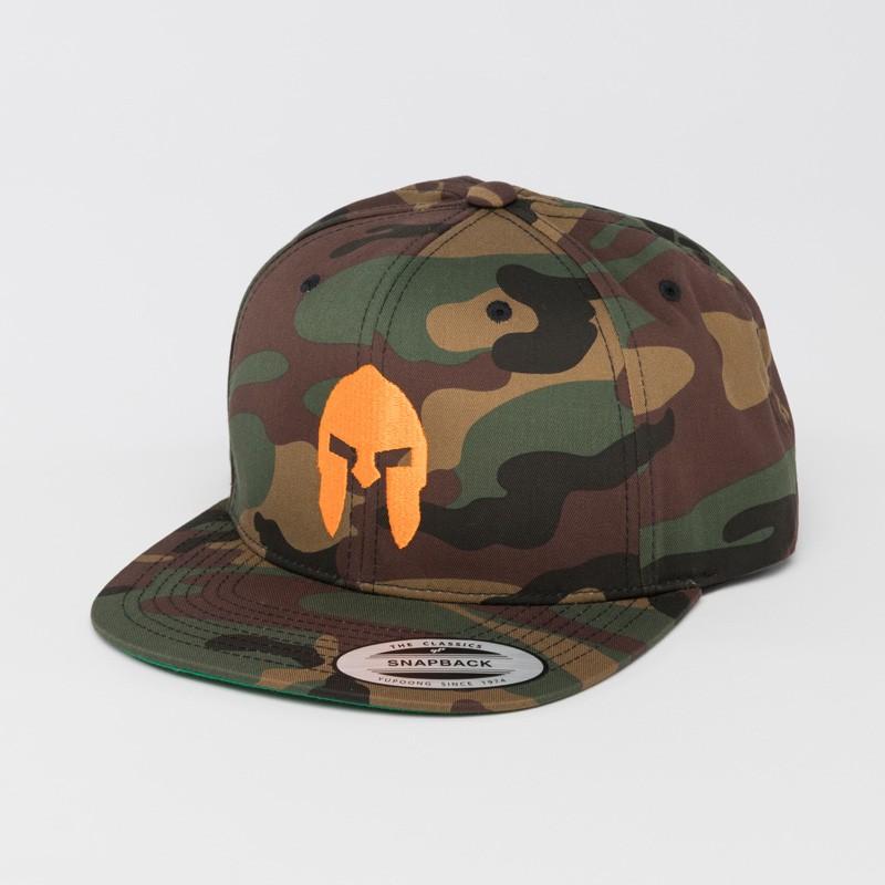 AGOGE Snapback camouflage mit Logo-Stick