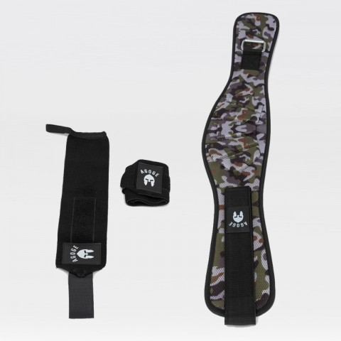 AGOGE Weightlifting-Set Basic camouflage