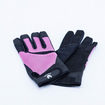AGOGE Trainingshandschuh rosa schwarz