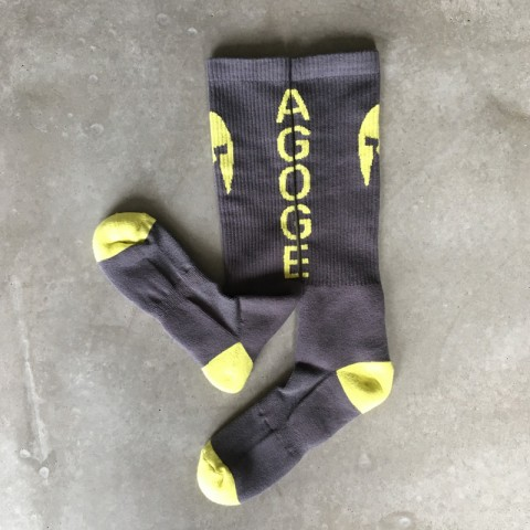 AGOGE Kniestrümpfe Socken mit Logo