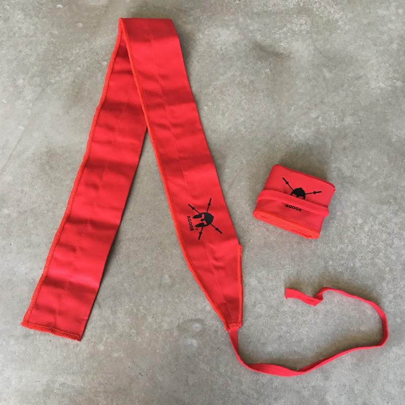 AGOGE Wrist Wraps Gymnastics - Handgelenk-Bandagen rot