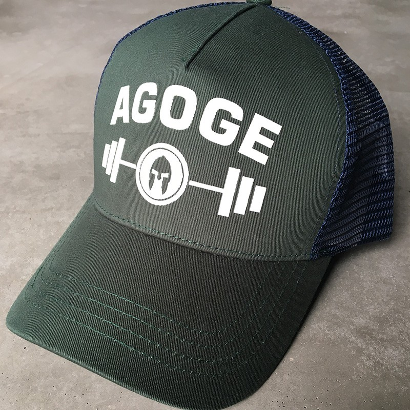 AGOGE Trucker Cap mit Logo-Print